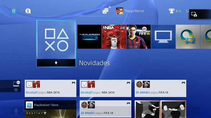 Icone em cima aparece com o comando Take Screenshot (Foto: Thiago Barros/TechTudo)