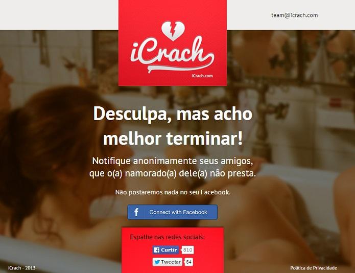 iCrach é bem semelhante ao Lulu, mas com outro intuito (Foto: Aline Jesus/Reprodução)