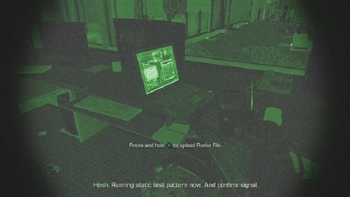 char o arquivo durante a visão noturna pode ser duro (Foto: Divulgação)