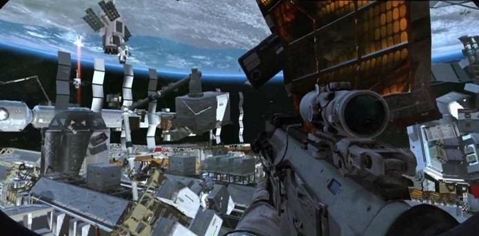 O laptop flutua no espaço (Foto: Divulgação)