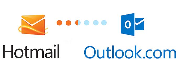 Hotmail encerrou em 2013 e usuários foram para o Outlook.com (Foto: Reprodução/IT Pro)