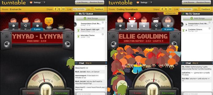 Turntable.fm tinha um custo alto e foi descontinuado (Foto: Divulgação)
