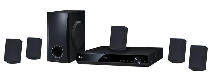 Home Theater Blu-Ray 3D LG BH4030S (Foto: Reprodução)