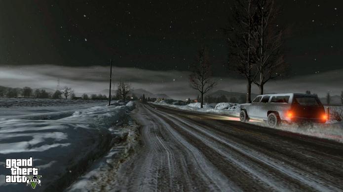 Bug permite acessar o mapa de North Yankton no modo online de GTA V. (Foto: Divulgação)