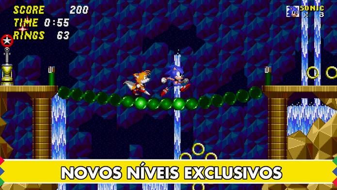 Sonic 2 ganha nova versão para iOS com novas fases (Foto: Divulgação)