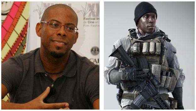 André Ramiro: ator de Tropa de Elite dubla personagem de Battlefield 4 (Foto: Reprodução/ Paulo Vasconcellos)