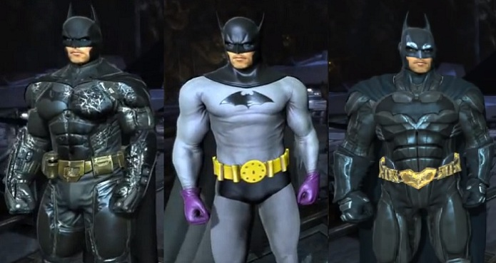 The Dark Knight, Classic e Injustice (Foto: Divulgação)