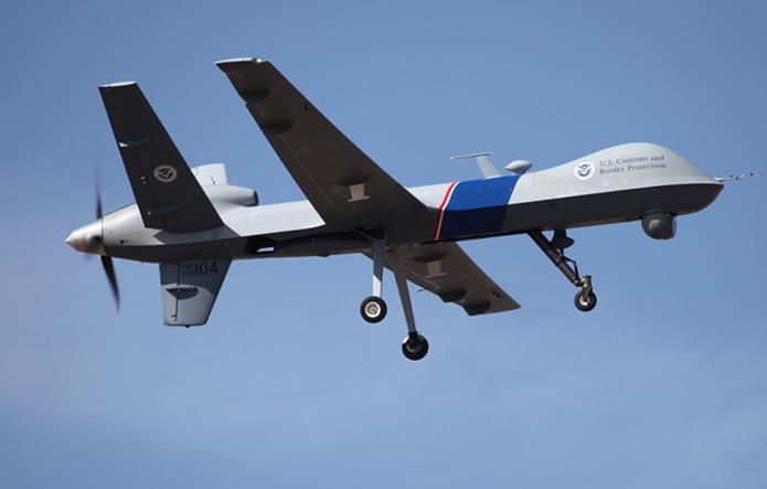 Drones são usados a três anos para patrulha a fronteira entre Estados Unidos e México