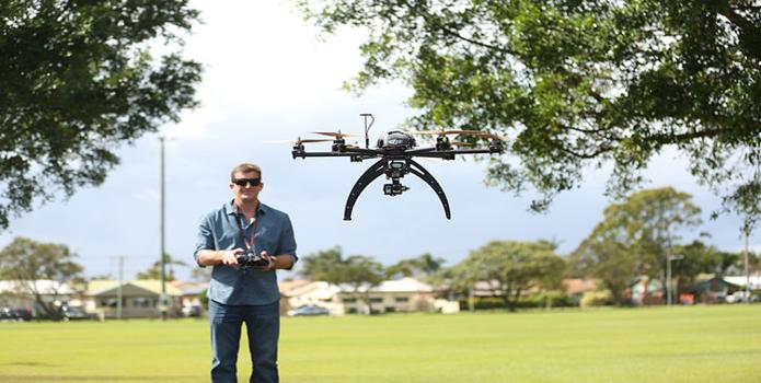 Drones estão auxiliando a venda de imóveis nos EUA e em outras partes do mundo.