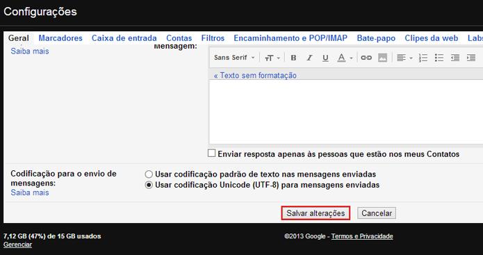 Como impedir que o Gmail mostre automaticamente as imagens nos e-mails (foto: Reprodução/João Kurtz)
