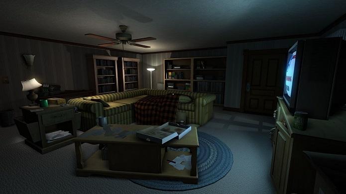 Gone Home é um game que exige muita exploração. (Foto: Divulgação)