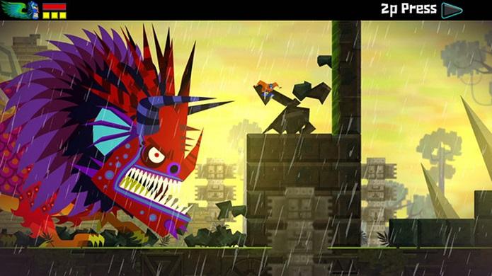 Guacamelee! é um divertido jogo inspirado pela cultura mexicana. (Foto: Divulgação)