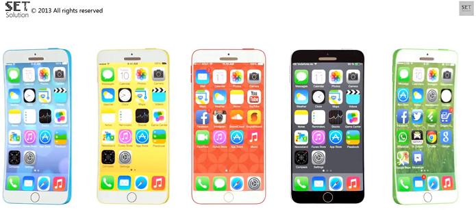 iPhone 6C também teria diversas cores (Foto: Reprodução/YouTube)