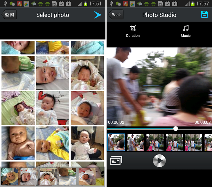KlipMix é um aplicativo de criação de montagens com fotos e vídeos para Android (Foto: Divulgação)