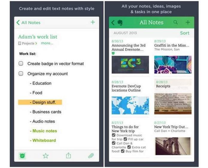 Evernote ganhou novo recurso (Foto: Divulgação)