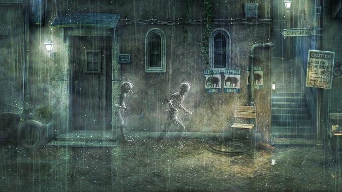Rain é um jogo simples mas singelo, com uma ótima trilha sonora. (Foto: Divulgação)