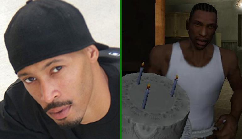Young Maylay: dublador de CJ também é rapper e responsável pelo tema do jogo (Foto: Reprodução/Gamer Euro)