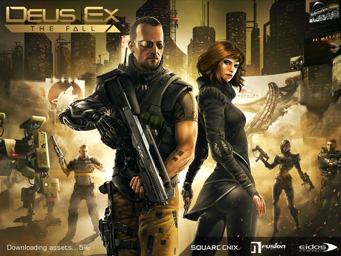 Aprenda a jogar Deus Ex: The Fall (Foto: Reprodução / Dario Coutinho)