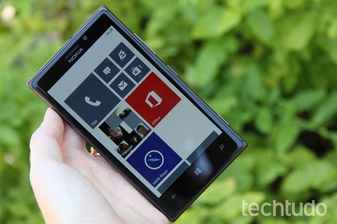 Segundo site, atualização do Windows Phone 8 chega em abril de 2014 (Luciana Maline/TechTudo)