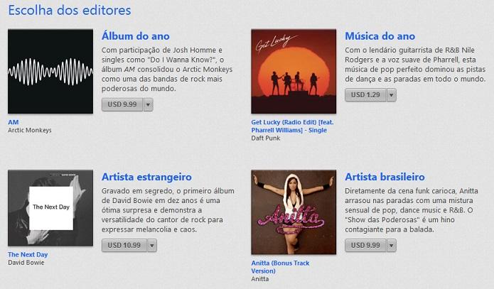 Anitta em destaque na App Store (Foto: Reprodução/Thiago Barros)