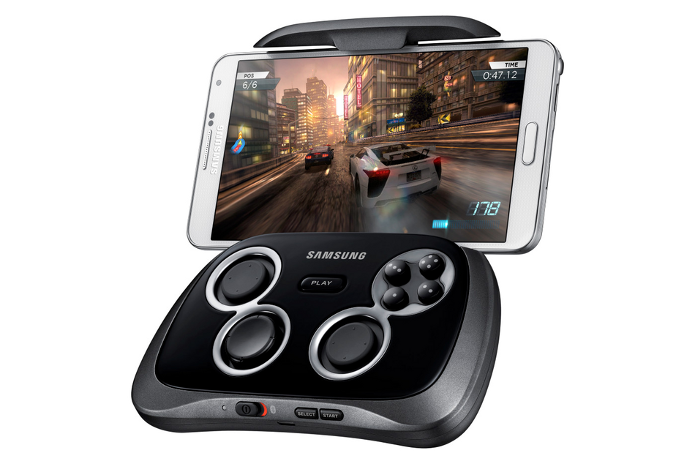 Samsung GamePad permitirá prender smartphones com 4 até 6,3. (Foto: Divulgação)