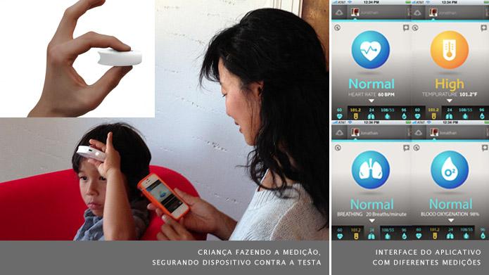 O aplicativo indica se os sinais vitais apresentam algum problema (Foto: Divulgação/Sanadu)