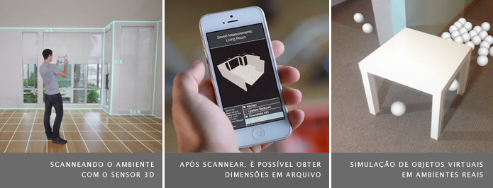 O aplicativo converte um objeto scaneado em 3D e simula sua posição em outros lugares através da realidade aumentada (Foto: Divulgação/Occipital)