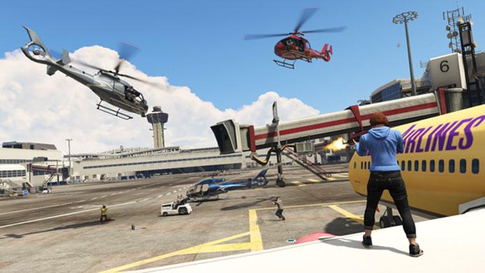 GTA Online recebe atualização com modos variados em Captura (Foto: Divulgação)