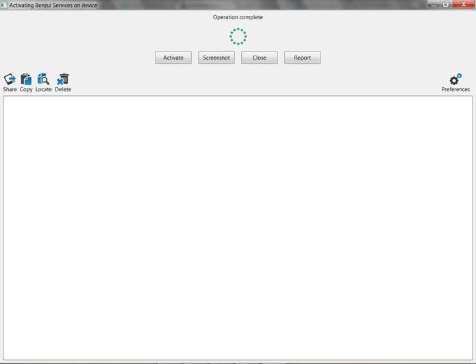 O símbolo em verde na parte superior da interface do programa indicará que a ativação foi concluída e está funcionando (Foto: Reprodução/Daniel Ribeiro)