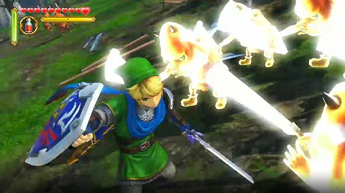 Hyrule Warriors expande o combate de The Legend of Zelda ao máximo (Foto: addictedgamer.net)