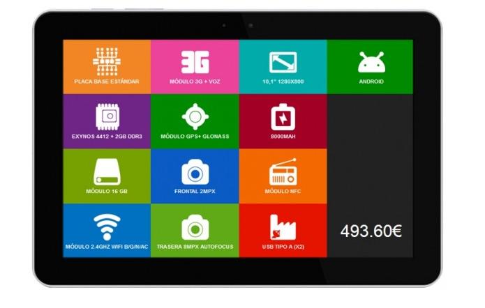 Click ARM é o primeiro tablet modular do mundo (Foto: Divulgação)