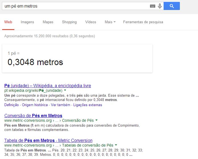 Reconhecimento de voz pode ativar calculadora do Google (foto: Reprodução)