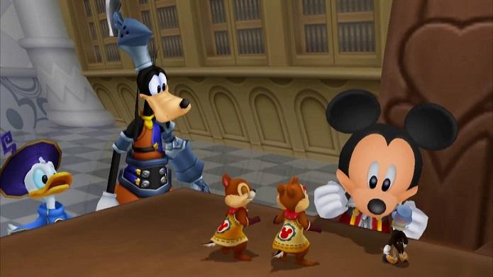 Kingdom Hearts HD 2.5 Remix é outro remake em HD da Square-Enix exclusivo para PS3. (Foto: Divulgação)