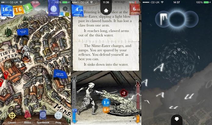 Sorcery! 2 mistura literatura e videogame nos moldes dos RPGs de mesa (Foto: Divulgação)