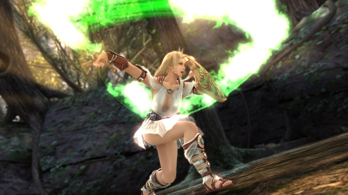 Soul Calibur: Lost Swords é game gratuito do famoso game de luta. (Foto: Divulgação)