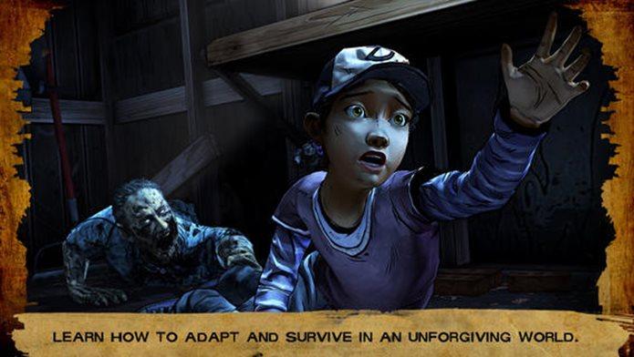 The Walking Dead ganha nova temporada no iOS com novos capítulos (Foto: Divulgação)