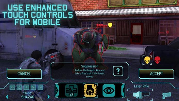 XCOM: Enemy Unknown foi muito bem adaptado para telas touch (Foto: Divulgação)