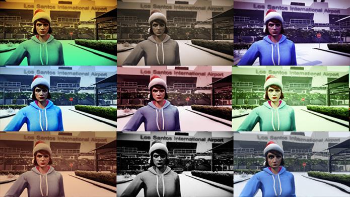 Filtros são uma novidade nas fotos do jogo (Foto: Divulgação)