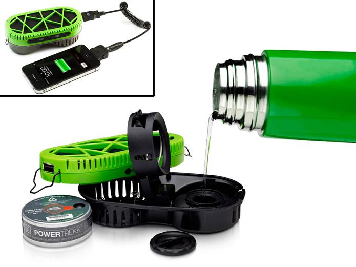 O myFC PowerTrekk consegue extrair energia da água, assim como os automóveis elétricos(Foto: Divulgação/myFC)