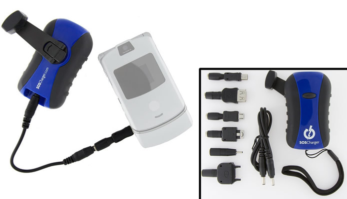 O SOS Self-Powered Charger é extremamente funcional, mas uma versão mais atualizada está para chegar no mercado (Foto: Divulgação/SOSReady.com)