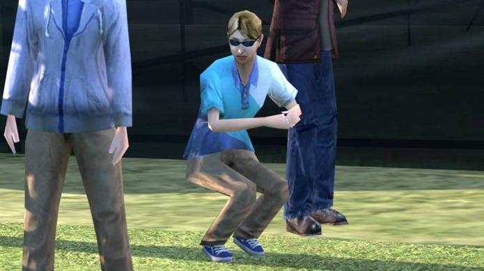 Espectador dançando o Twist em Gran Turismo 6 (Foto: Gameranx)
