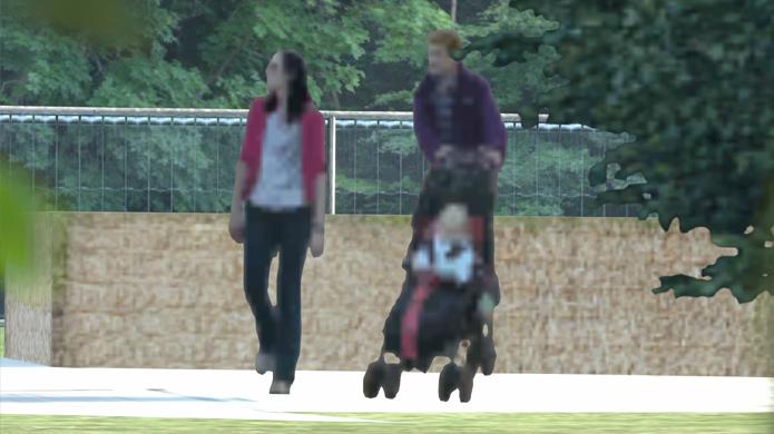 Imagens ao fundo de GT6 mostram que esse bebê se parece muito com os pais (Foto: Gameranx)