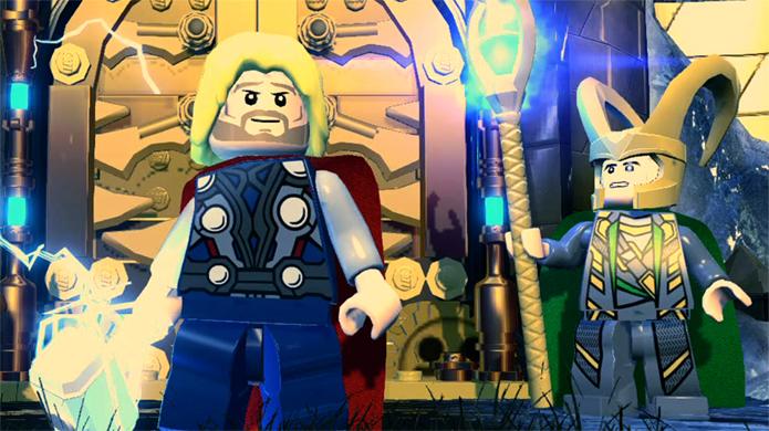 Thor e Loki receberão companhia de Asgard em LEGO Marvel Super Heroes (Foto: ign.com)