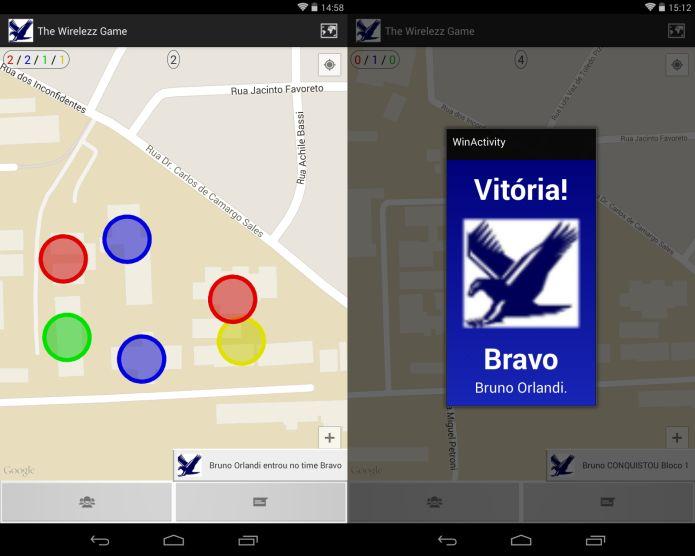 O jogo brasileiro utiliza o conceito de Realidade Aumentada e é inspirado em Ingress, do Google (Foto: Divulgação)