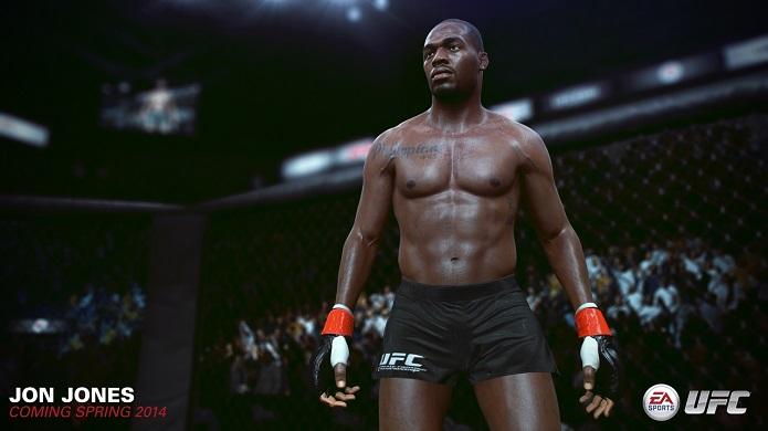 Jon Jones é a estrela do novo UFC (Foto: Divulgação/EA)