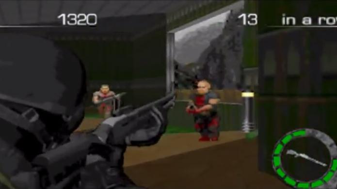 Doom: The Mercenaries transforma Doom em um jogo de tiro em terceira pessoa (Foto: Reprodução)