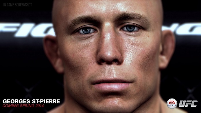 GSP, mesmo fora do UFC por tempo indeterminado, está no jogo (Foto: Divulgação/EA)