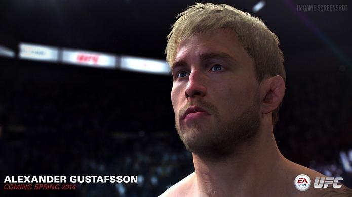 Gustaffson perdeu para Jon Jones recentemente (Foto: Divulgação/EA)