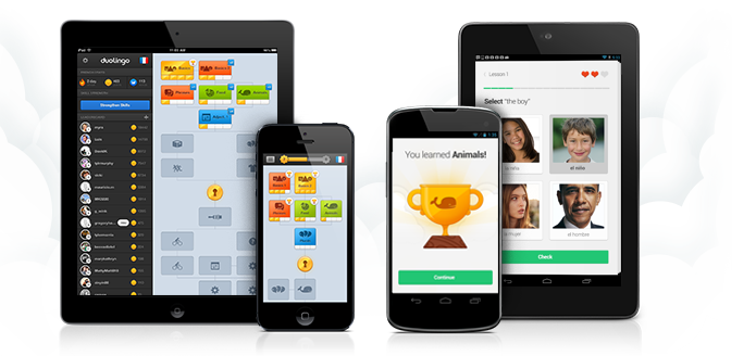 Duolingo permite aprender outra língua no smartphone (Foto: Divulgação)