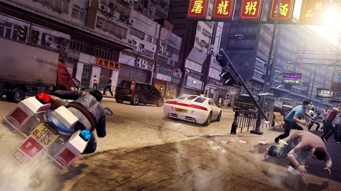 Perseguições, tiroteios e kung-fu chegam de graça em Sleeping Dogs na Xbox Live Gold (Foto: Divulgação)